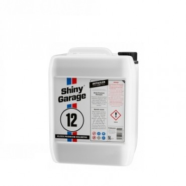 Sleek Premium Shampoo 500ml Shiny Garage