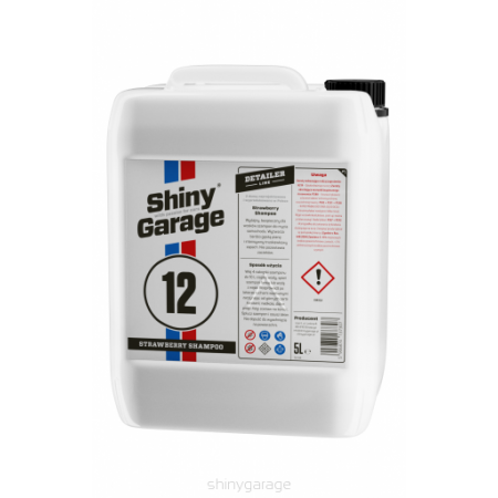 Strawberry Car Shampoo Shiny Garage