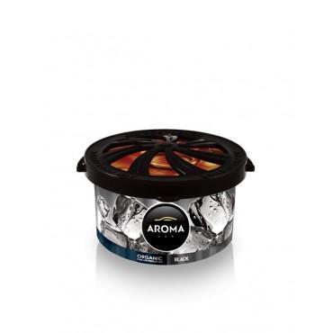 Odświeżacz powietrza Aroma Organic Black