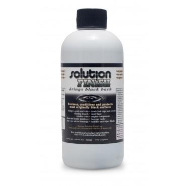 Solution Finish Black Plastic & Vinyl Restorer – produkt do renowacji tworzyw sztucznych 336g