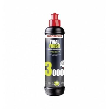 Menzerna 3000 Final Finish wykańczająca pasta polerska twarde lakiery 250ml