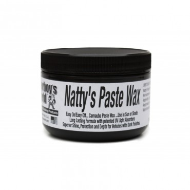 Poorboy's world natty's paste black wax