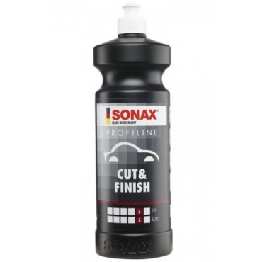 SONAX Profiline Cut & Finish - jednoetapowa pasta polerska one step jak S17 250 ml
