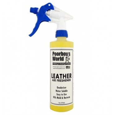 Poorboy's Leather Air Freshener 473ml