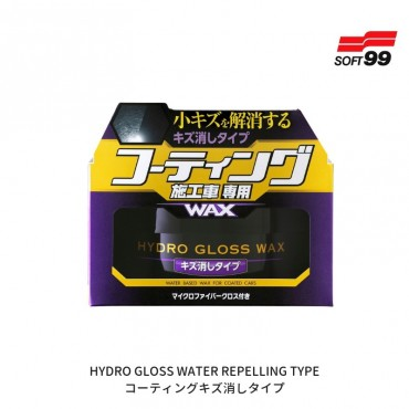 SOFT99 Hydro Gloss Wax Scratch Removal Type - WOSK KRYJĄCY ZARYSOWANIA  150g