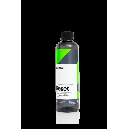 CarPro Reset - szampon pielęgnuje i odtyka powłoki kwarcowe/ceramiczne 1:500 50ml