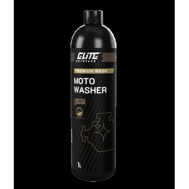 Moto Washer 1L ELITE Detailer - do usuwania tłustych nalotów i osadów znajdujących się w komorze silnika