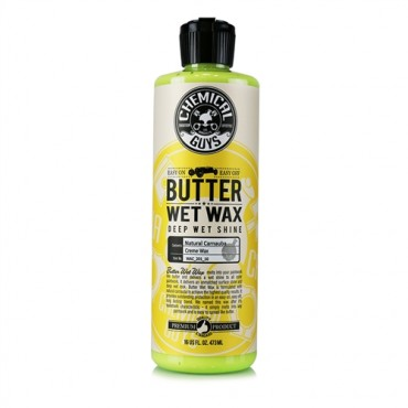 "Butter Wet Wax 473ml CHEMICAL GUYS - wosk dający efekt ""wet-look"""
