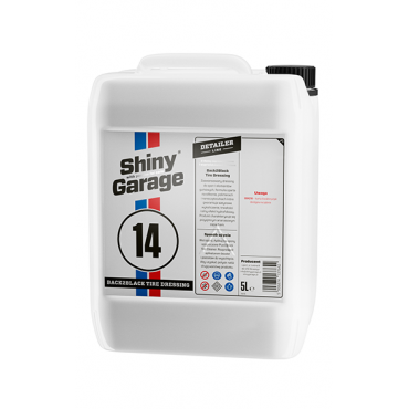 Shiny Garage Back2Black Polymer Tire Dressing 5L
