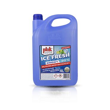 Ice Fresh 4l PLAK - zimowy płyn do spryskiwaczy -20 stopni