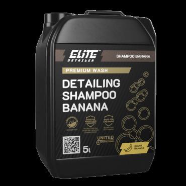 Detailing Shampoo Banana 1L ELITE Detailer -niezwykle wydajny bananowy szampon do mycia samochodu