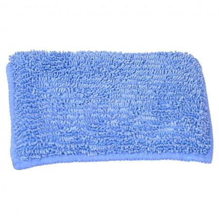 Aplikator z mikrowłókna niebieski prostokątny