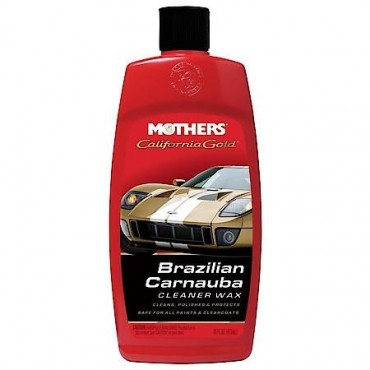 Mothers California Gold® Carnauba Cleaner Wax - Mleczko