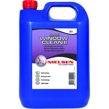 Bez smug preparat do mycia szyb NIELSEN - Blue Window Cleaner 5L
