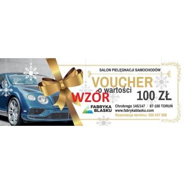 Voucher 100zł na usługi w Fabryce Blasku w Toruniu