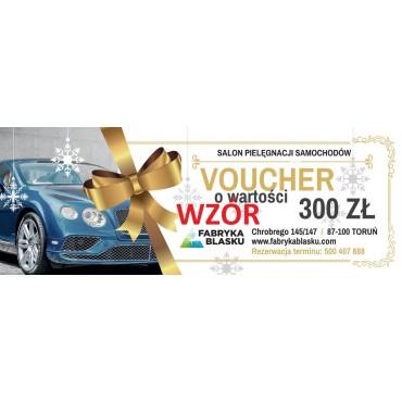 Voucher 300zł na usługi w Fabryce Blasku w Toruniu