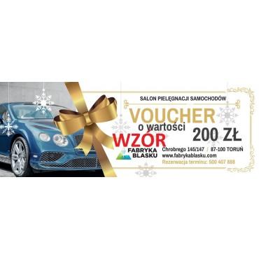 Voucher 200zł na usługi w Fabryce Blasku w Toruniu