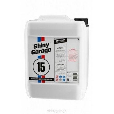Interior Quick Detailer 5L Shiny Garage